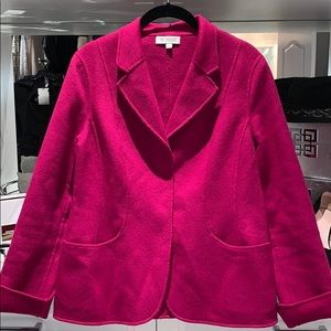 Kinross cashmere unconstructed blazer jacket